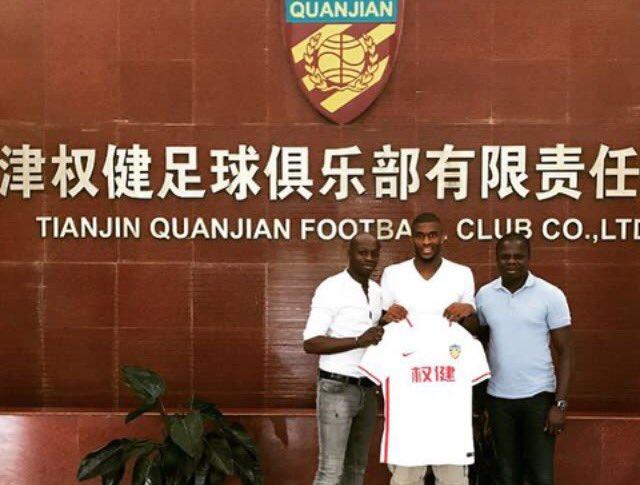Bakambu, le troisième joueur le mieux payé en Chine — Mercato