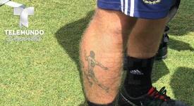 'El Diego' en la piel. TelemundoSports
