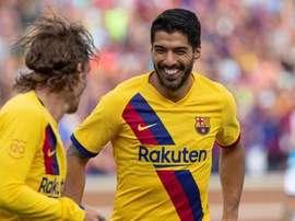 Griezmann veut encore marquer des buts avec le Barça. EFE