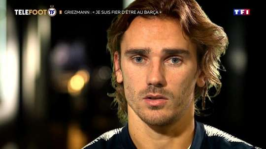 Griezmann said they need to have trust in him. Twitter/telefoot_TF1