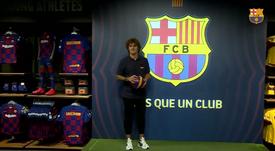 Griezmann is already in Barcelona. FCBarcelona