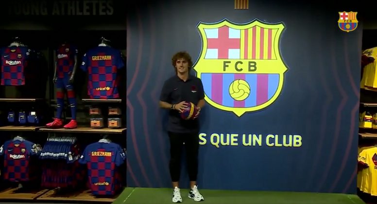 Griezmann is already in Barcelona. FCBarcelona