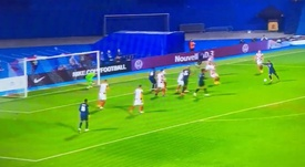 Griezmann scored a brilliant goal for France in Croatia. Captura/BeMad