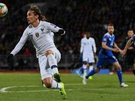França - Moldávia: onzes iniciais confirmados. Twitter/equipedefrance