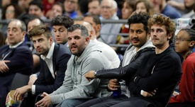 Griezmann estuvo en la Copa del Rey. EFE