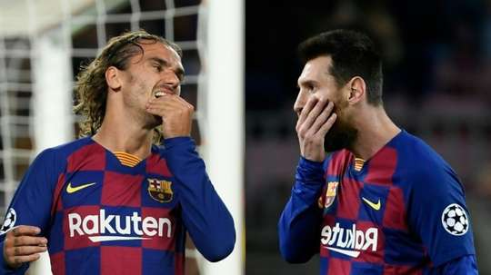 Greizmann's confessions about his style of play have shocked some Barcelona fans. AFP
