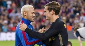 O Barça vai em busca de um final feliz para a sua outra novela. AFP