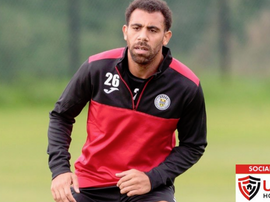 Anton Ferdinand has not hit the heights his brother did. Twitter/saintmirrenfc