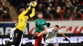 El Lokomotiv cayó en la visita del Dinamo. Twitter/fclokomotiv