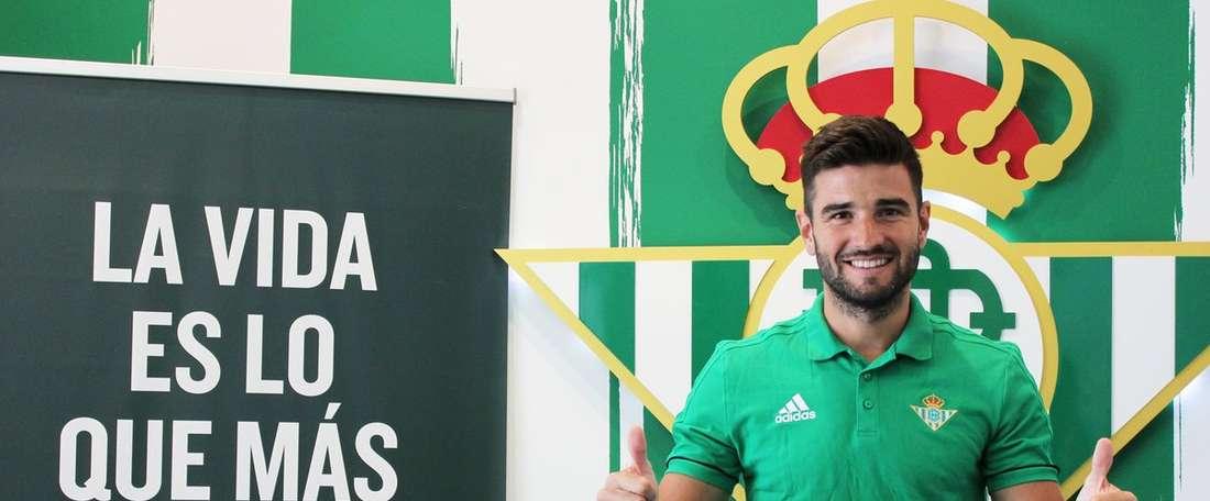 Barragán por empréstimo no Betis. RealBetis