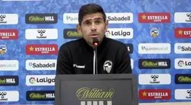 Antonio Hidalgo habló en rueda de prensa. Captura/CESabadell