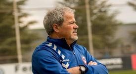 Iriondo catalogó al Lugo uno de los que mejor fútbol practica de Segunda. RayoMajadahonda