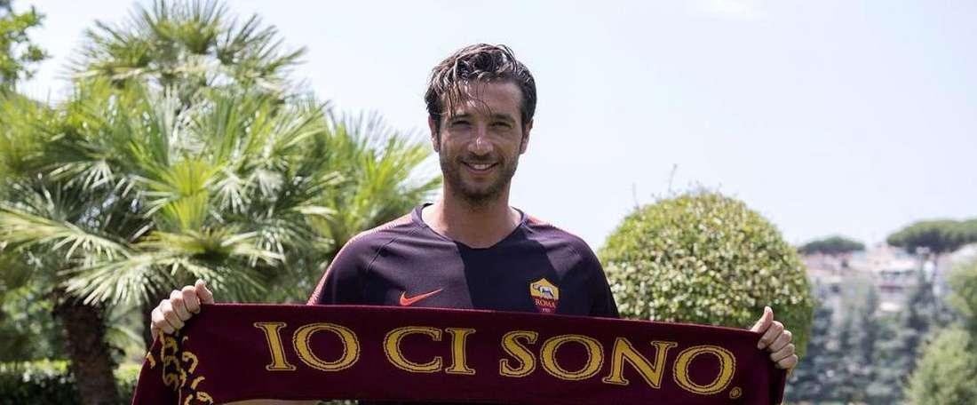Mirante sera à la Roma jusqu'en 2021. Twitter/OfficialASRoma