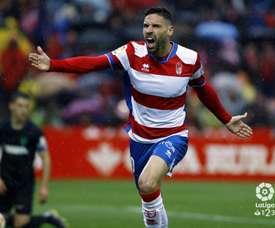 El Granada venció al Málaga con gol de Puertas. LaLiga