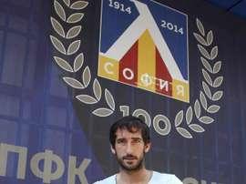'Añete' ficha por el Apollon Smyrnis. Levski