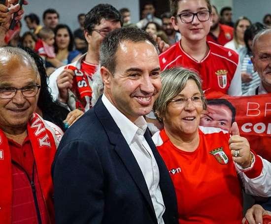 O líder dos minhotos saiu em defesa do seu clube. SC Braga