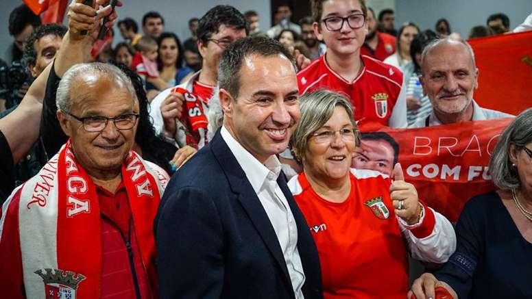 Os 'Gverreiros do Minho' continuam a apostar forte no mercado. SC Braga