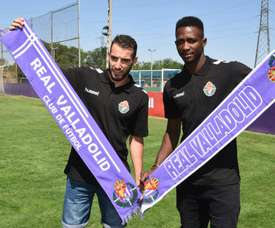Sulayman (d) se perderá la próxima jornada al ser seleccionado por Gambia. RealValladolidCF