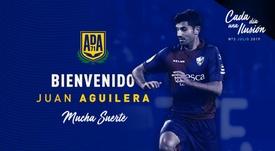 Juan Aguilera ya es del Alcorcón. ADAlcorcon