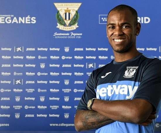 Rolan prêté à Leganés. Twitter/CDLeganes