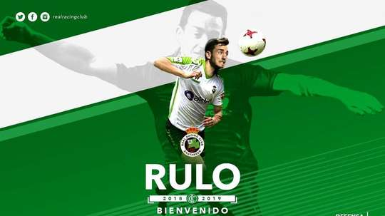 Rulo jugó la pasada temporada en el Huesca. Twitter/RealRacingClub