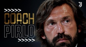 Pirlo is the new Juventus manager. Twitter/juventusfc
