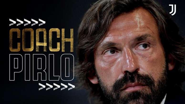 Pirlo é o novo técnico da Juventus. EFE