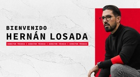 Hernán Losada, nuevo técnico del DC United. Twitter/DCUnited