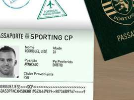 Jese Rodriguez rejoint le Portugal. Twitter/Sporting_CP