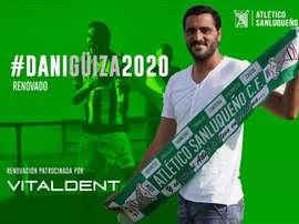 Dani Güiza seguirá en el Atlético Sanluqueño. AtléticoSanluqueño