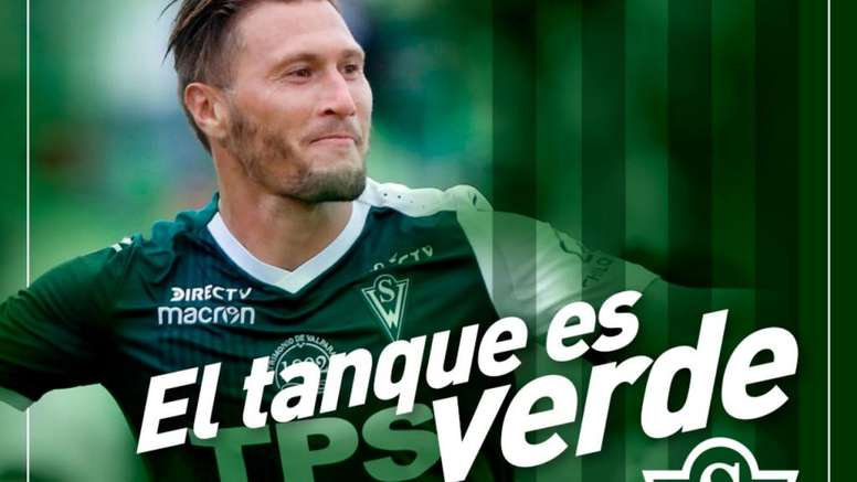 Lanaro seguirá en Santiago Wanderers. SantiagoWanderers