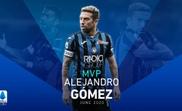Papu Gómez, eleito o melhor jogador de junho na Serie A. Twitter/SerieA