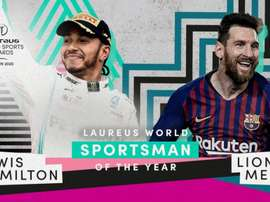Messi ganha o Prêmio Laureus. Twitter/LaureusSport