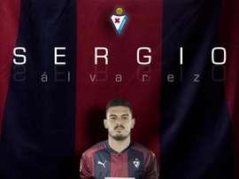 Sergio Álvarez ya es armero. Twitter/SDEibar