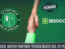 El CF Pozuelo, un nuevo club patrocinado por BeSoccer. BeSoccer