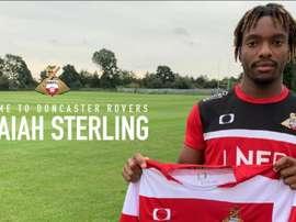Kazaiah Sterling rejoint les Doncaster Rovers. DoncasterRovers