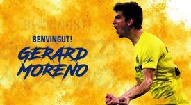 Gerard Moreno volta ao Villarreal.VillarrealCF
