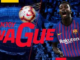 Wague is set to become a Barcelona player. FCBarcelona