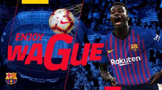 Wague is set to become a Barcelona player. FCBarcelona