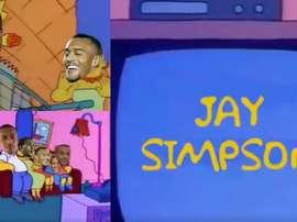 Jay Simpson: el mejor anuncio para un fichaje.
