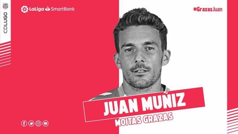 El Lugo rescinde el contrato de Juan Muñiz. CDLugo