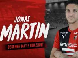 Jonas Martin is now a Rennes player. SRFC