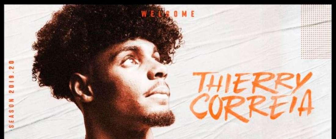 Thierry Correia é o novo reforço do Valencia. ValenciaCF