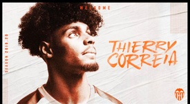 Thierry Correia has completed his move from Sporting to Valencia. ValenciaCF