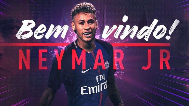 PSG sign Neymar. PSG