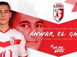 Anwar El Ghazi se ha convertido en nuevo jugador del Lille. LOSC