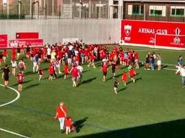 Arenas de Getxo consigue el ascenso a Segunda División B
