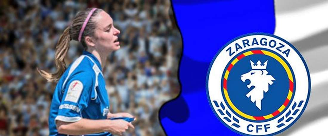 La jugadora vasca se compromete con el Zaragoza para la próxima temporada. RealZaragoza