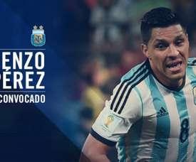 Enzo Pérez remplacera Lanzini. Argentino