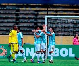 Argentina Sub 20 quiere apurar sus opciones. EFE/Archivo
